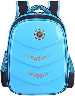 WZHZJ Children's Backpacks, Primary Satchel Backpack School Student for Girls Boys Waterproof Preppy Schoolbag