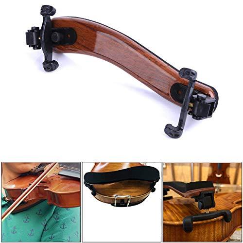 Styddi Schulterstütze für Violine, für die Größen 4/4 und 3/4, klappbar, Universal-Schulterpolster für Geigen, in Höhe und Winkel verstellbar