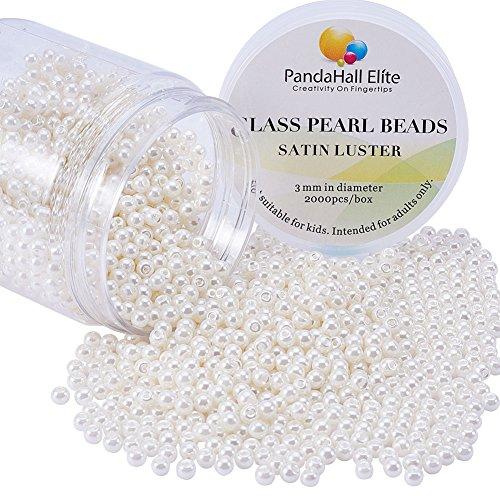 Perlas 3mm  marca PH PandaHall