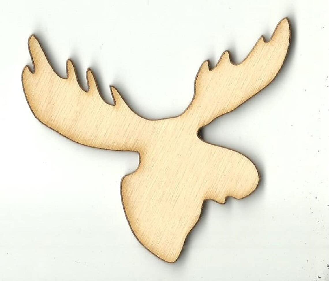 Max 73% OFF Add a Hole Moose - Laser Cut Shape Unfinished Wood Max 85% OFF Craft Sup Out