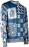 ProSphere Drake University Ugly Holiday Unisex Sweater - Tradition 571D28E6 Blue and Gray