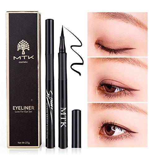 Symeas Waterproof Eyeliner Liquide Eyeliner Crayon Stylo Maquillage Cosmétique Noir