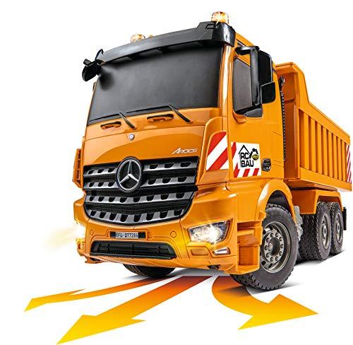 RC Auto kaufen Baufahrzeug Bild 4: Carson 500907284 1:20 Muldenkipper 2.4G 100% RTR*