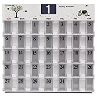薬保管箱 30日、薬のカレンダープレゼント服用患者たち,桜の花びらデザイン(ランダム)海外直送品