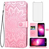 Phone Case for LG X Charge/Fiesta 2 LTE/X Power 2/X5/LV7 Wallet Cases with...