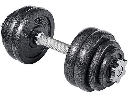 arteesol Kurzhanteln-Verstellbares Gewichte Hantel, Handeln, Hantelset, Kurzhantel 10kg 15kg 20kg 30kg Workout Fitness Training (1 x 15 kg)