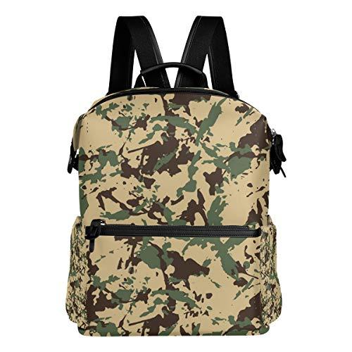 Deziro schoolrugzak camouflage reistas daypack OneSize 3