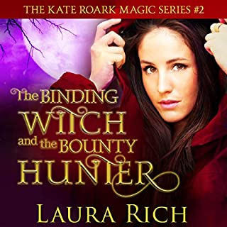 The Binding Witch and the Bounty Hunter audiobook cover art