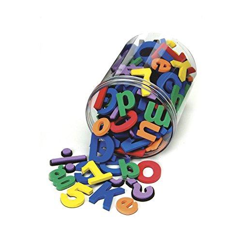 Chenille Kraft 4357 Wonderfoam Magnetic Alphabet Letters, Assorted Colors. 105/Pack
