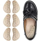 Dr. Foot's Supination & Over-Pronation Corrective Shoe Inserts, Medial & Lateral Heel Wedge Insoles for Foot Alignment, Knee Pain, Bow Legs, Osteoarthritis - 3 Pairs (Beige)