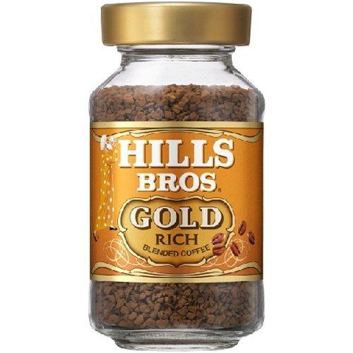 ヒルス インスタントコーヒーブレンドゴールド瓶 90g×12本