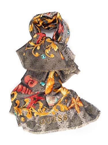 Guess dames sjaal zwart viscose