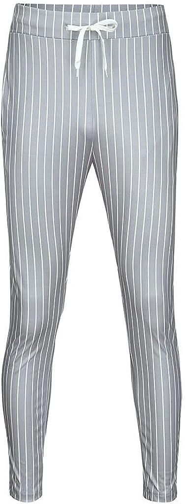 Kirbaez Mens Long Casual National uniform free shipping Elastic 25% OFF Drawstring P Waist Sports Loose