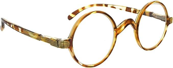 1920s Men's Style Clothing Vintage Round Reading Glasses Professor Readers  AT vintagedancer.com