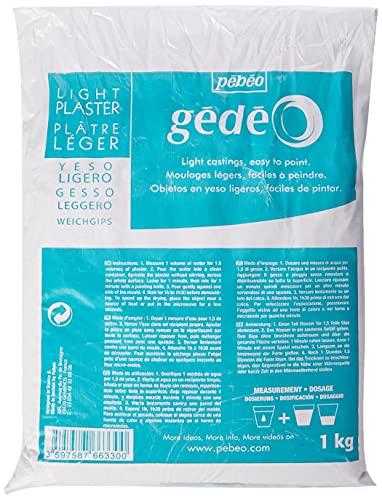 Gedeo Sac de plâtre léger Blanc 1kg