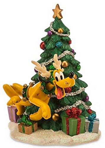 Disney Pluto As Reindeer Christmas Holiday Figurine Theme Park Exclusive
