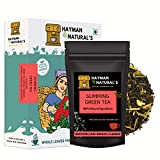 HAYMAN NATURAL'S Slimming Green Tea (100g | 56cups) for Weight Loss and Belly Fat Made with Garcinia...