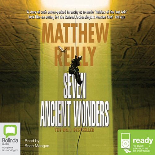 Seven Ancient Wonders audiobook cover art