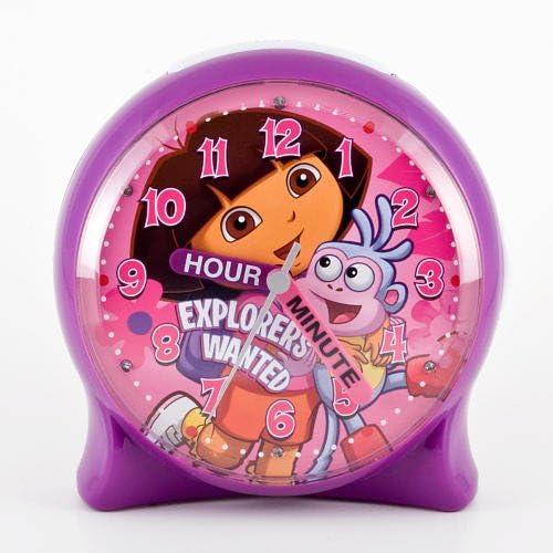 Dora Light-Up Time Teacher Clock