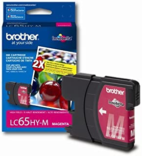 Brother LC65HYM (LC-65HYM) Innobella High-Yield Ink, 750 Page-Yield, Magenta