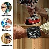Braccialetto magnetico, 15calamite viti Nails punte regali gadget, utensili, regalo per uomo lui Dad DIY Handyman elettricista marito fidanzato padre donne Birthday Ideas