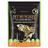 PET MUNCHIES - Snacks de salmón para perros (Paquete de 6) (6 x 125g) (Puede Variar)