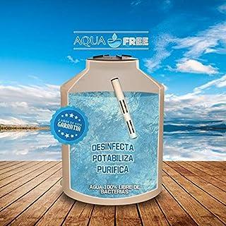 Aqua free Agua Segura, Elimina Virus,bacterias y Hongos del