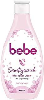 bebe Aksamitnie miękki krem pod prysznic Soft Shower Cream – 6 x 250 ml, żel pod prysznic o delikatnym zapachu, sucha skóra