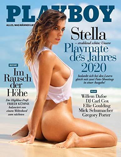 Playboy 08/2020 Stella strahlend schön: Unsere Playmate des Jahres 2020 bedankt sich bei den Lesern gleich mit zwei Foto-Shootings