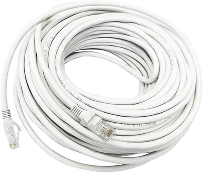 EXCEART 50 Meters Cat 6 Ethernet Patch N Cord LAN Cable Reservation Internet OFFer