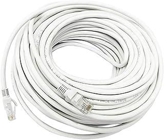 EXCEART 50 meter katt 6 ethernet kabel patchkabel internet LAN-nätverk RJ45-kontakt för router modem spel