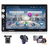 "Podofo Double Din Car Stereo Android Car Radio 7"" HD Touchscreen AM/FM Radio"