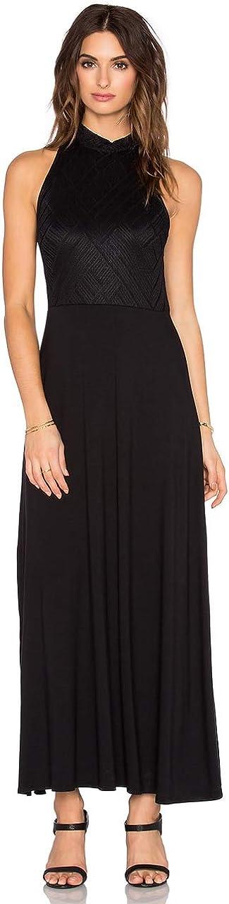 Three Dots Women's Ankle Length Sleeveless Tara Dress