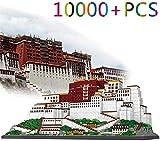 LNLJ Arquitectura Mundialmente Famosa Micro Building Blocks Set, 10000Pcs Potala Palace Mini Building Bricks Modelo Ingeniería Juguete Juego Juego Juguetes Regalo para Niños Adultos