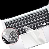 Lapogy 3 in 1 MacBook Pro 16 inch Keyboard Cover,Pro 13 inch 2020(A2289, A2338),Pro 16 inch 2019( A2141),Touch Bar Protector ,Trackpad Protector,Accessories