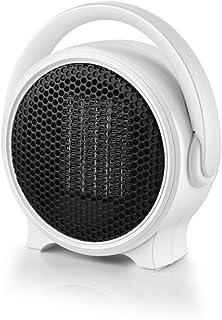 LYzpf Rápido Calentador de Ventilador Mini Pequeña Cerámica Aire Personal Portátil Calefactor Eléctrico Bajo Consumo de Energía para Habitación Oficina Baño