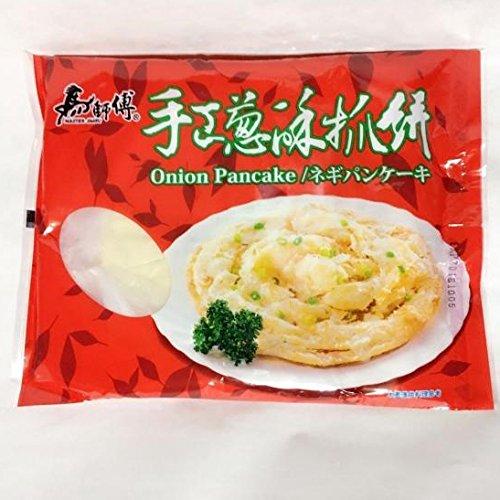 手工葱酥抓餅 ネギパンケーキ 100g×5枚入り 台湾名物 冷凍食品
