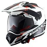 Astone Helmets - CROSS TOURER GRAPHIC ADVENTURE - Casque de motocross homologué en polycarbonate -...