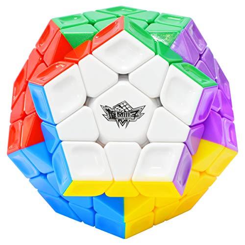 Maomaoyu Megaminx Zauberwürfel Stickerless 3x5 Dodekaeder Speed Magischer Würfel Puzzle