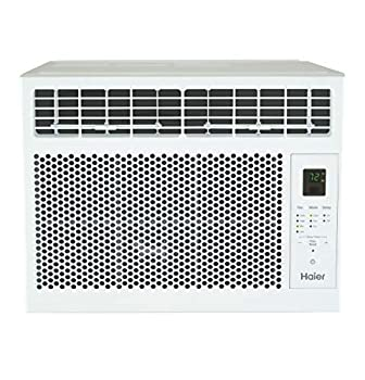 Haier 6,000 BTU Electronic Window Air Conditioner for Small Rooms up to 250 sq ft 6000 115V White