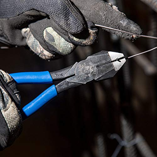 Linemans Pliers, 9-1/4 In, Dipped Handle