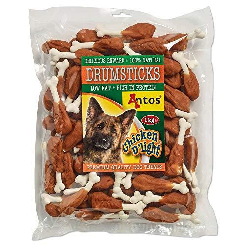 Muslitos con Pollo 1 kg | Snacks para Perro | Golosinas para Perro ✅