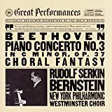 Beethoven: Piano Concerto No. 3 in C Minor, Op. 37 / Choral Fantasy