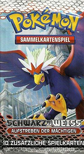 Pokemon Schwarz & Weiss 02 Aufstreben der Mächtigen Booster deutsch