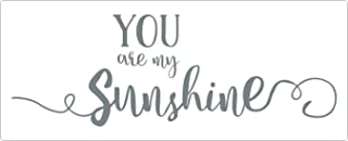 Wall Decor Plus More WDPM3759 You are My Sunshine Wall Decal Vinyl Stickers for Nursery Decor, 33 x 11