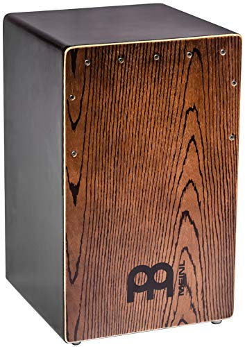 Meinl Percussion Backbeat Bass Cajon with Ported Sound Hole and Adjustable Strings for Snare Effect — NOT MADE IN CHINA — Replicate Acoustic Drum Set Grooves, 2-YEAR WARRANTY, BBCAJTH