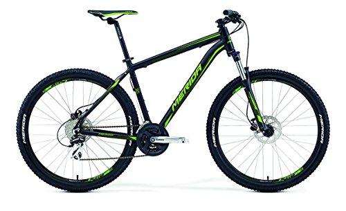 Merida Big.Seven 20-D 27, 5 Zoll Mountainbike Schwarz/Grün (2016), 38