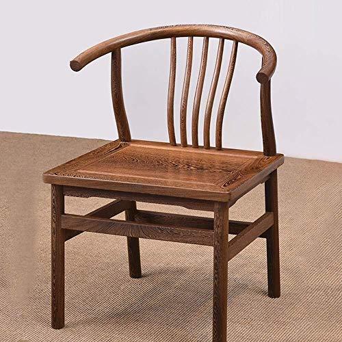 ShiSyan Dining Chair Computer Sedia Poltrona Durevole Solido Sedia di Legno Sedia da Pranzo Classico Adatto Sedie Home Ristorante Cucina (Colore: Brown, Dimensione: 51x43x75cm) Poltroncine