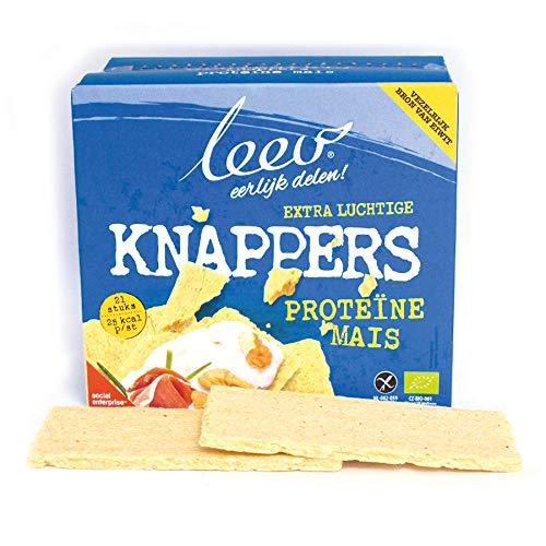Bio Protein Crackers, Knäckebrot organic (Natural)