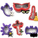 Stampi per Biscotti Halloween,Stampo per Biscotti,Formine Biscotti Halloween Set,Formine per Biscotti di Halloween per Biscotti Acciaio Inox Stampi Biscotti DIY Decorazioni Dolci Biscotti
